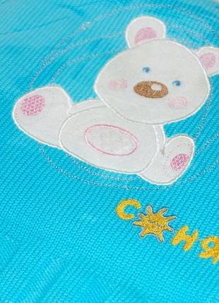 Детское вязаное одеяло, хлопок