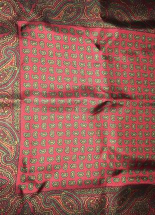 Стильный аксессуар шейный платок в восточном стиле! шелк!