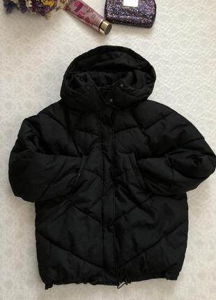 Куртка - одеяло от h&m оверсайз 6- размер s- m . крутая стильная куртка тренд