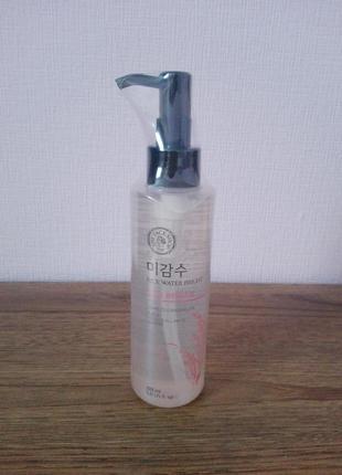 Гидрофильное масло с экстрактом риса the face shop rice water bright light cleansing oil