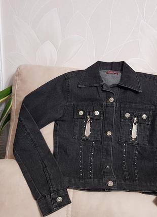 Кофта джинсовая, накидка. турция