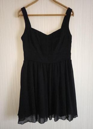 Платье с пачкой миди