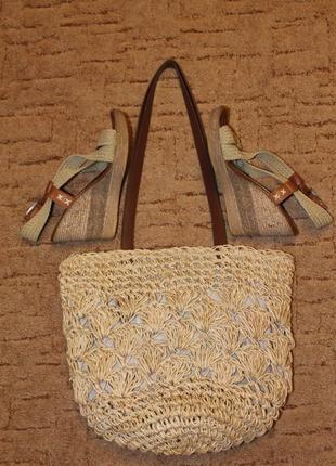 Тренд лета 2019 плетеная сумка marc & spenser