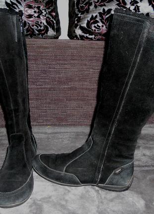 Ботинки-сапожки сапоги esprit, замша, 26 см