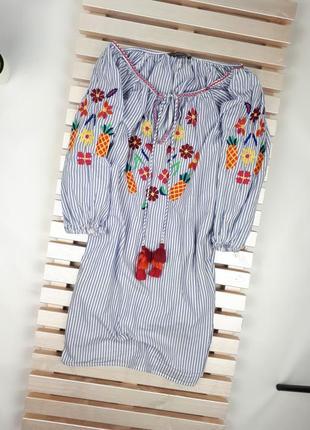 Блуза primark с вышивкой