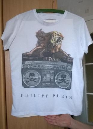 Мега-крутая футболка philipp plein