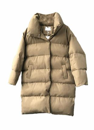 Зимняя куртка  пуховик  gina bacconi  одеяло  , оверсайз