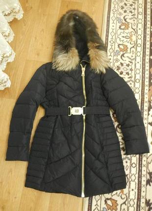 Теплое зимнее пальто/пуховик/куртка/48-50р. qarlevar