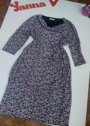Платье 54 52 размер миди футляр топ скидка sale marks & spencer