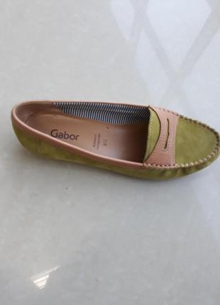 Туфли кожаные gabor.