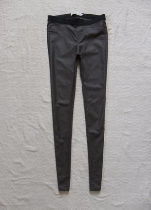 Стильные джинсы джеггинсы скинни с пропиткой clockhouse, 36 размер.