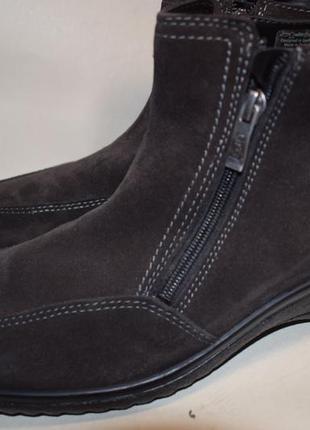 Замшевые мембранные ботинки gore tex ara зимние р.8 на р.42 27,5 см h