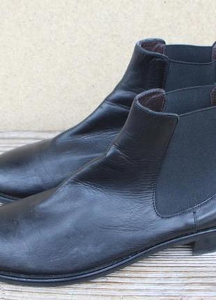 Ботинки челси billi bi кожа дания 41р