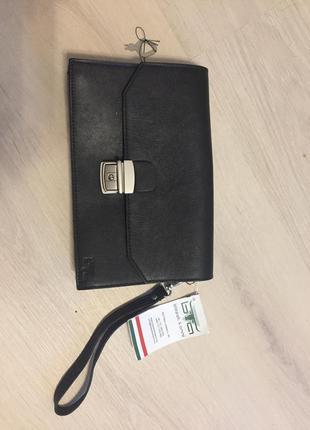 Кожаная новая барсетка ,мужская сумка , качественная кожа