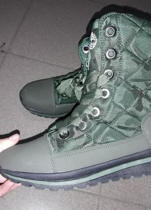 Ботинки сапоги  36-41 зима зимние мех нат кожа термо  женские подросток сапожки