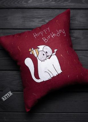 Бесплатная доставка нп! декоративная подушка на подарок