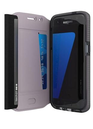 Новый оригинальный чехол tech21 evo wallet для samsung s7 в заводской упаковке
