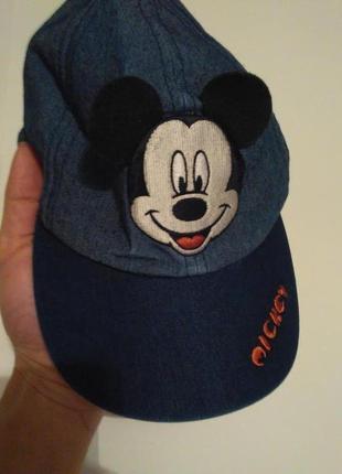 Рр 55-56 см. disney модная котоновая кепка микки маус под джинс