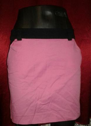 Яркая розовая юбка, возможен обмен
