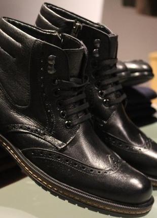 Мужские ботинки на меху 2019 - купить недорого мужские вещи в ... 456ab10db76
