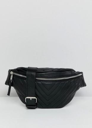 Новая стеганая поясная сумочка / бананка