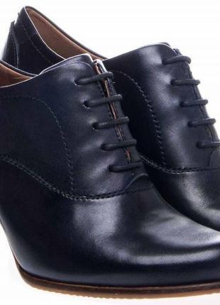 Ботинки кожаные ecco ,р 38