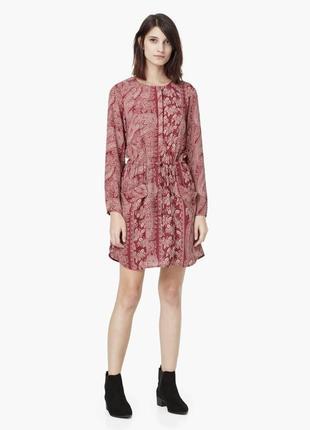 Платье рубашка mango - xs, s, м