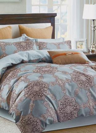 Роскошное постельное белье вилюта сатин твил рис.206