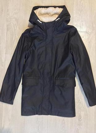 Прорезиненная куртка плащ дождевик ветровка