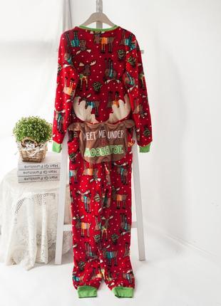 Новогодние пижамы женские 2019 - купить недорого вещи в интернет ... b5ce52c3bfb06