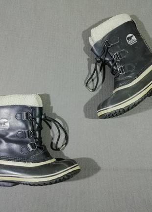 Зимние ботинки-снегоходы sorel