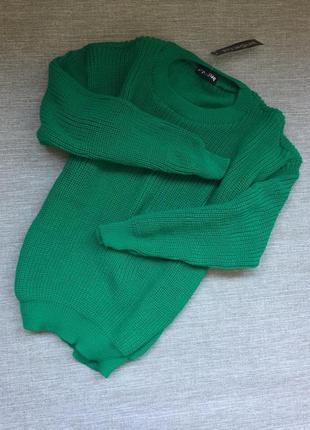 Актуальный плотный свитер