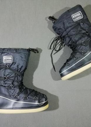 Мужские ботинки сапоги-луноходы winter experience