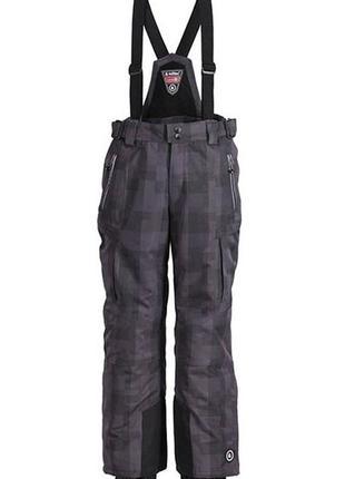 Качественные зимние лыжные термо штаны killtec германия р. 152
