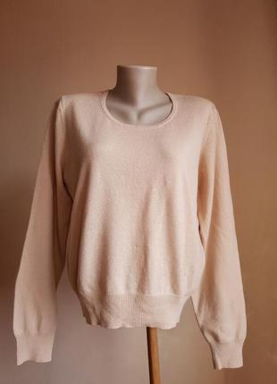 Нежный свитер кашемир и шерсть woolovers