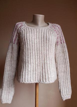 Потрясающий свитер оверсайз шерсть bmm италия