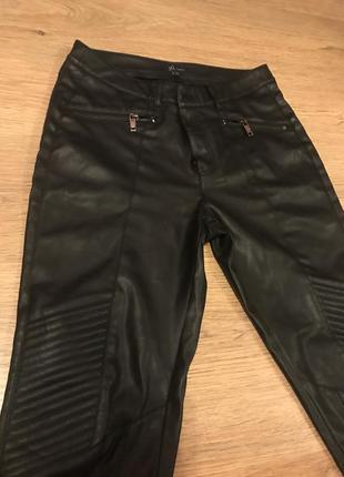 Кожаные женские штаны reserved