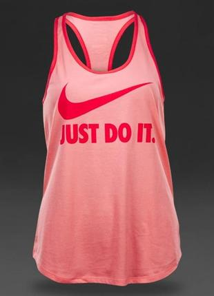 Nike dri fit розовая майка xs - s размер . оригинал