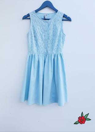 Сказочно красивое платье на пуговичках new look комбинированое платье нежное платье