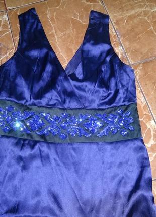 Нарядный сарафан, вечернее платье
