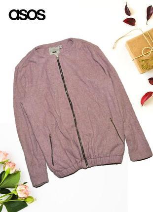 Куртка нежно фиолетового цвета asos