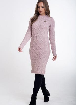 Вязанное платья.всегда.модно.