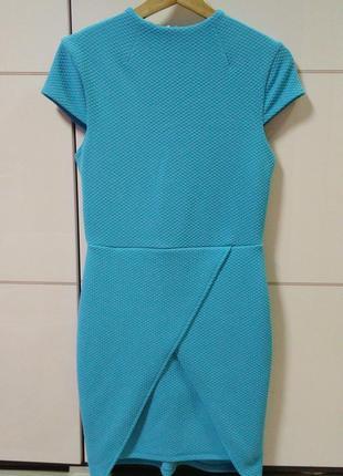 Стильна сукня футляр блакитного кольору від asos