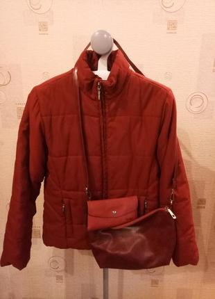Женская теплая куртка, легкий пуховик