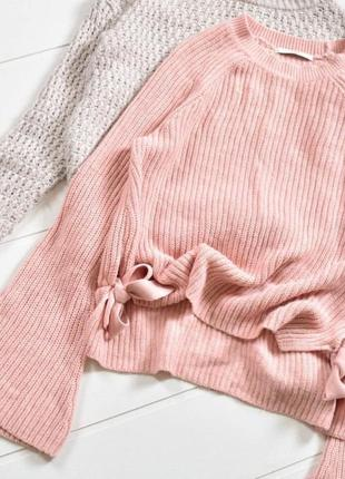 Мягкий пудровый свитерок george