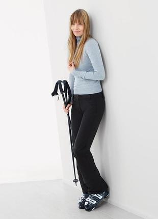 Женские лыжные брюки от тсм tchibo (чибо), германия, размер укр 50-52, замеры