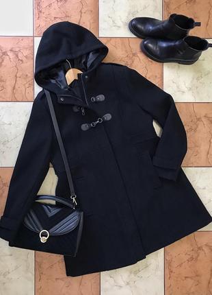 Черное пальто la redoute