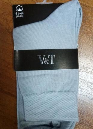 Хлопковые мужские носки тм v&t