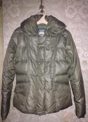 Пуховая куртка натуральная