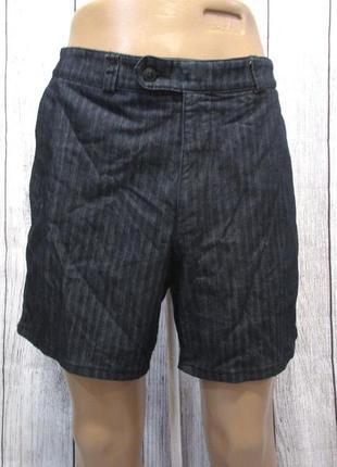 Шорты джинсовые cabano, 34s, короткие, отл сост!